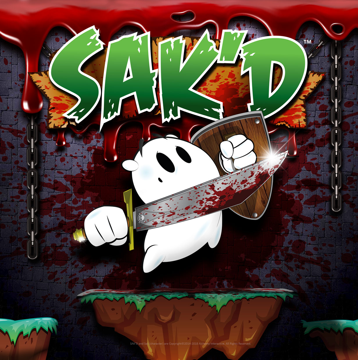 SAK'D Exciting New RPG Platformer Game